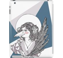 Magpie Lady iPad Case/Skin