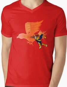Falcon Punch! Mens V-Neck T-Shirt