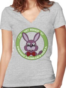 Five Nights at Freddy's - I've Met Bonnie Women's Fitted V-Neck T-Shirt