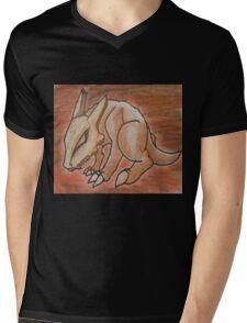 Haunted Marowak Mens V-Neck T-Shirt
