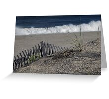 September Surf Greeting Card