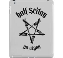 Hail Seitan 1.1 (black) iPad Case/Skin