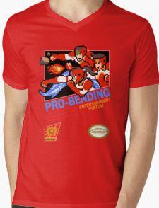 Pro-Bending Mens V-Neck T-Shirt