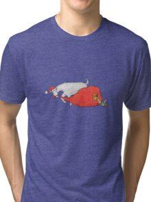 Christmas goat Tri-blend T-Shirt