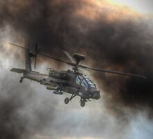 Apache HDR  - Dunsfold Wings and Wheels 2014 by Colin  Williams Photography
