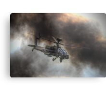 Apache HDR  - Dunsfold Wings and Wheels 2014 Metal Print