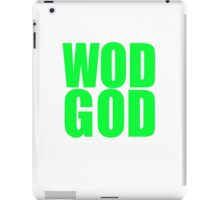 WOD GOD iPad Case/Skin