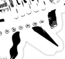 Raygun Sticker