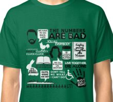 LOST QUOTES Classic T-Shirt