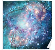 Abstract galaxies 2 Poster