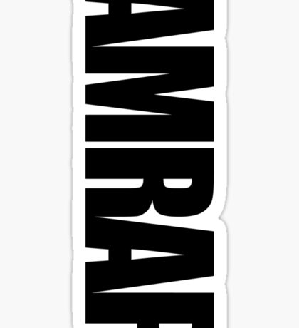 AMRAP Sticker