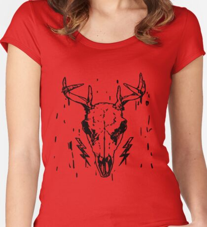 Life Is Strange - Max's red t-shirt Women's Fitted Scoop T-Shirt