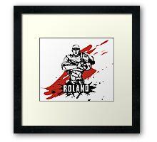 Roland Framed Print