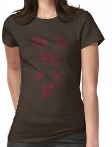 The 100 - from the ashes we will rise - red Womens Fitted T-Shirt