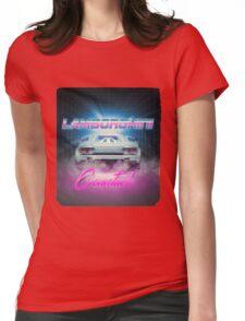 LAMBORGHINI COUNTACH Womens Fitted T-Shirt