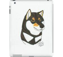 Black & Tan Shiba Inu iPad Case/Skin