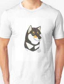 Black & Tan Shiba Inu Unisex T-Shirt