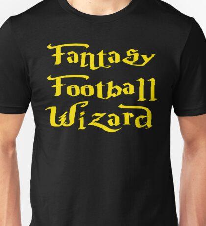 Fantasy Football Wizard Unisex T-Shirt