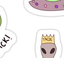 Cool aliens Sticker