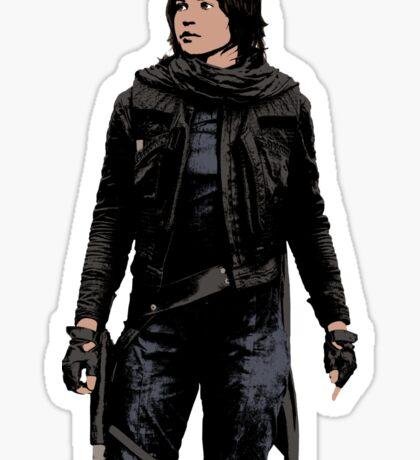 Jyn Erso - Star Wars: Rogue One - Sticker Sticker