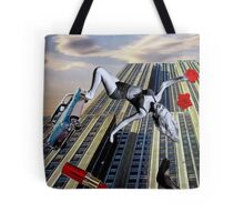 When it All Comes Crashing Down Tote Bag