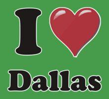 I Love Dallas Kids Clothes