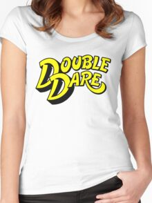 Double Dare Women's Fitted Scoop T-Shirt