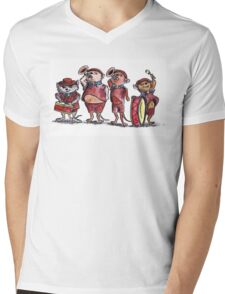Scout Mice Mens V-Neck T-Shirt