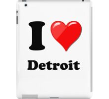 I Love Detroit iPad Case/Skin