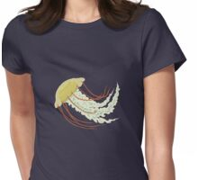 Nice Jellyfish Womens Fitted T-Shirt