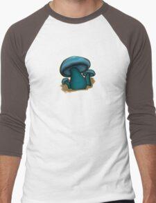 Mushroom Illustrated Differently Men's Baseball ¾ T-Shirt