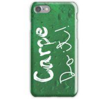 Carpe Do it! (green) iPhone Case/Skin