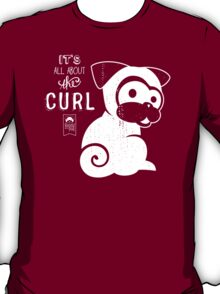 It's All About the Curl Tee (Vintage Look) T-Shirt