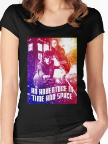 An Adventure in Time and Space Women's Fitted Scoop T-Shirt