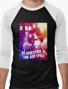 An Adventure in Time and Space Men's Baseball ¾ T-Shirt