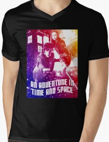 An Adventure in Time and Space Mens V-Neck T-Shirt
