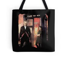 Capaldi Doctor Who Tote Bag