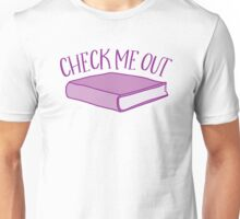 check me out (Library book) Unisex T-Shirt