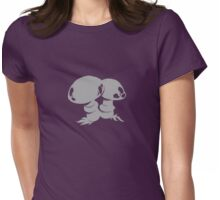 Graphic Mushrooms Womens Fitted T-Shirt