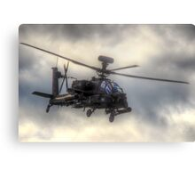 Mean Looking  Apache HDR - Dunsfold Wings and Wheels 2014 Metal Print