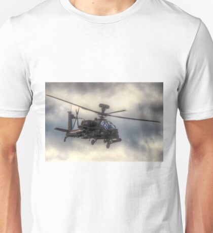 Mean Looking  Apache HDR - Dunsfold Wings and Wheels 2014 Unisex T-Shirt