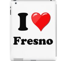 I Love Fresno iPad Case/Skin