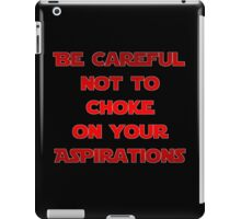 Darth Vader Quote iPad Case/Skin