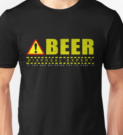 Funny Beer drinking christmas Unisex T-Shirt
