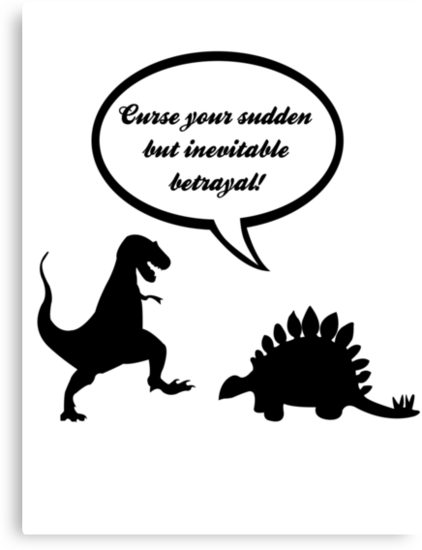 Curse your sudden but inevitable betrayal! by steffirae