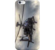 Mean Looking  Apache HDR - Dunsfold Wings and Wheels 2014 iPhone Case/Skin