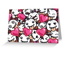 Poro Party Greeting Card