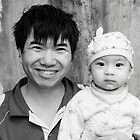 Vietnamese Faces by Andrew  Makowiecki