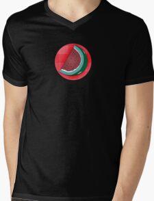 Watermellon Slice II Mens V-Neck T-Shirt