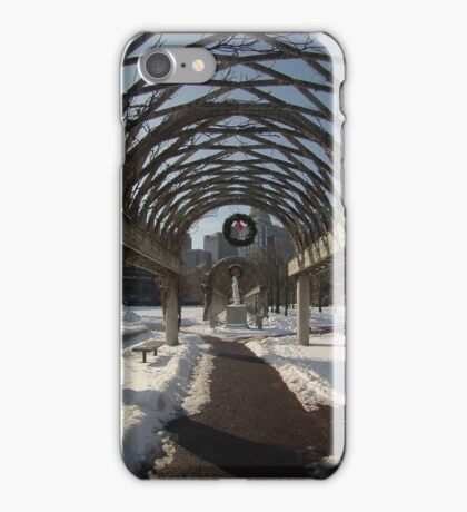 Streets of boston iPhone Case/Skin
